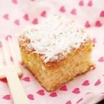 冷たいココナッツケーキ(Bolo Toalha Felpuda )